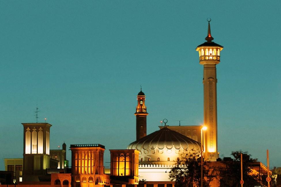 Dubai Downtown Bastakia Quarter Bur Dubai