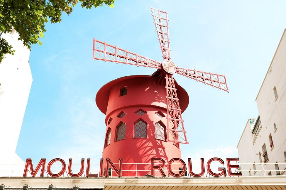 Moulin Rouge i Paris