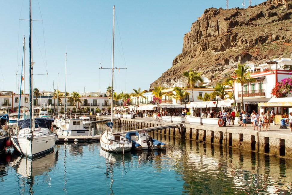 Puerto de Mogán på Gran Canaria