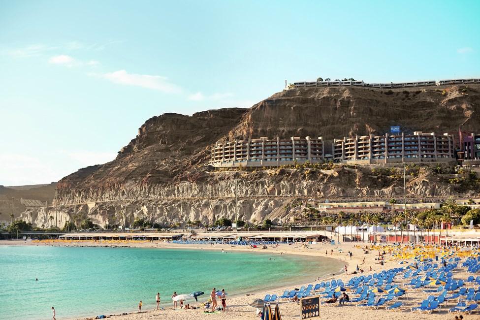 Playa de Amadores på Gran Canaria