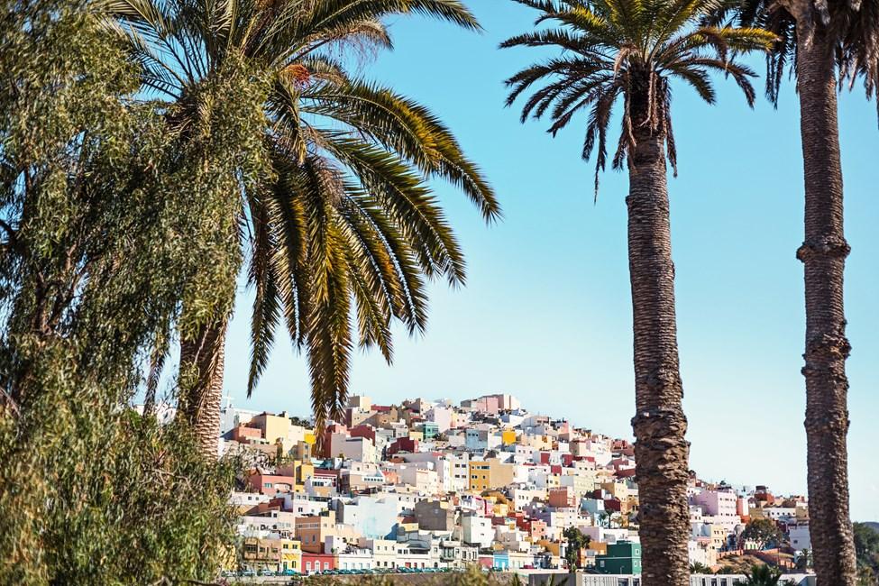 Las Palmas på Gran Canaria