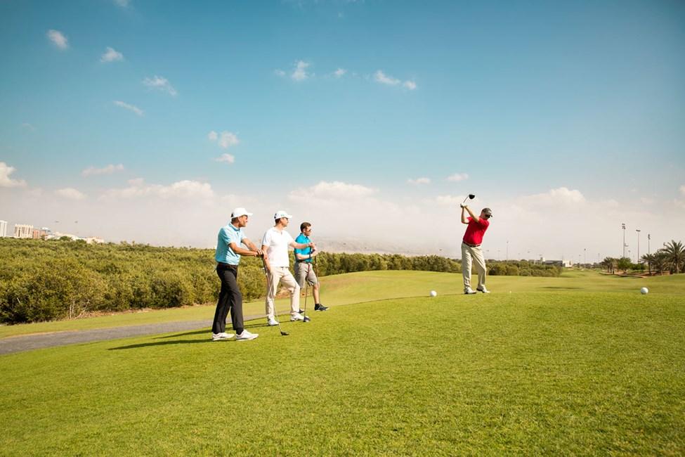 I Ras Al Khaimah finns flera golfbanor, bland annat populära Tower Links